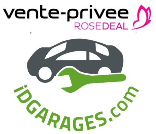 Code promo Vente Privée : [Rosedeal] Payez 25€ le bon d'achat IDGARAGES de 50€, 50€ pour 100€ ou 75€ pour 150€