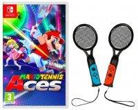 Fnac: 2 Raquettes Konix pour Joy-Con à 9,99€ pour l'achat du jeu Mario Tennis Aces  sur Nintendo Switch