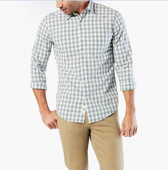 Code promo Dockers : Chemise slim fit à 30€ au lieu de 59€
