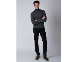 Father & Sons: Jean homme noir coupe skinny 5 poches d'une valeur de 49,90€ au lieu de 79,90€