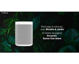Le Monde.fr: A gagner une enceinte Sonos One Blanc