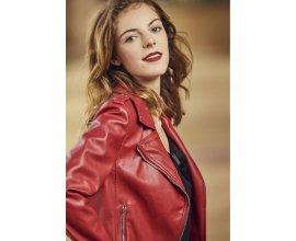 Cache Cache: Veste en simili-cuir style motard rouge d'une valeur de 15€ au lieu de 39,99€