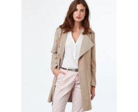 Etam: Trench  femme fluide manches 3/4 ceinture à la taille beige d'une valeur de 29€ au lieu de 79,99€
