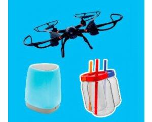 Old Nick: 25 drones  avec Caméra HD, 100 enceintes bluetooth et 300 bocaux à cocktail à gagner
