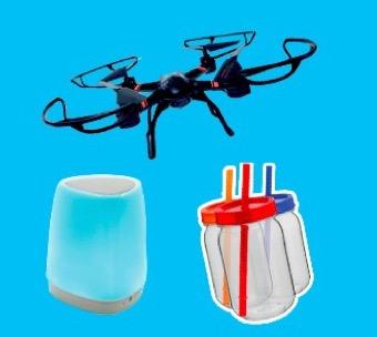 Code promo Old Nick : 25 drones  avec Caméra HD, 100 enceintes bluetooth et 300 bocaux à cocktail à gagner