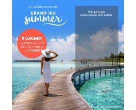 Auchan: A gagner un voyage sur une Île d'une valeur de 5000 euros