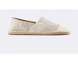 Celio*: Chaussures espadrilles homme bi-matière couleur nature au prix de 15€ au lieu de 25,99€
