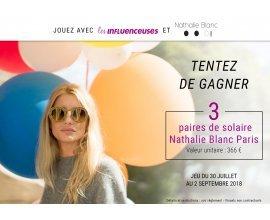 Hellocoton: A gagner des lunettes de soleil Nathalie Blanc Paris