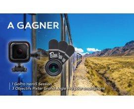 Voyage: Une caméra go pro