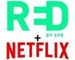 RED by SFR: Forfait mobile Appels, SMS, MMS illimités + 50 Go de data + abonnement Netlix à 20€ par mois