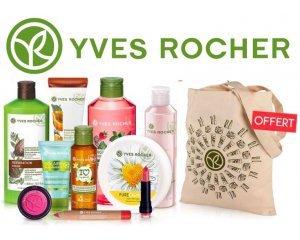 Yves Rocher: 5 produits de beauté au choix + 1 Tote bag offert + livraison gratuite à 19,90€