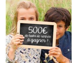 Cyrillus: 500€ de looks de rentrée à gagner