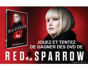 "Allociné: 10 DVD du film ""Red Sparrow"" à gagner"