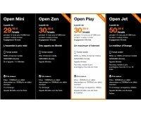 Orange: Le forfait Open Play d'Orange à 30,99€ au lieu de 67,99€ pendant un an