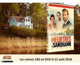 """Femme Actuelle: Le coffret des saisons 1&2 de """"Meurtres à Sandhamn"""""""