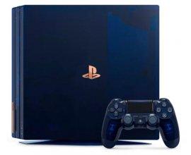 Playstation: 1 PS4 Pro 2To Édition Limitée 500 Millions + 1 casque-micro + 1 carte PSN de 50€ + 12 mois à PS +