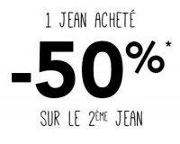 Phildar: 1 jean acheté = le 2ème à -50%