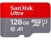Amazon: Carte Mémoire SanDisk MicroSDHC Ultra 128GB Classe 10 à 29,50€