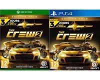 Amazon: The Crew 2: Edition Gold sur PS4 ou Xbox One à 79,99€ au lieu de 99,99€