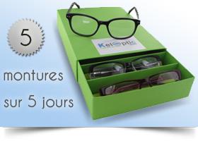 Code promo KelOptic : Essai gratuit de vos lunettes à domicile