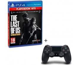 Cdiscount: The Last of Us Remastered ou Uncharted 4 sur PS4 + Manette PS4 DualShock 4 Noire V2 à 56,99€