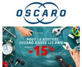 Oscaro: 15% de réduction sur toutes les pièces détachées de voiture