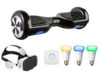 Président: 6 hoverboards MP Man, 6 hoverboards MP Man, 10 casques VR Archos pour smartphone