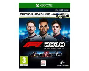 jeu xbox one f1 2018 edition headline 47 95 au lieu de 69 99 amazon. Black Bedroom Furniture Sets. Home Design Ideas