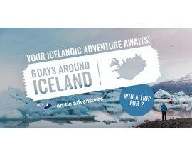 Arctic Adventures: 1 voyage pour 2 personnes en Islande à gagner