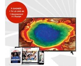 L'Équipe: 1 TV LH UHD 4K & 1 abonnement numérique de 1 mois à l'Equipe à gagner