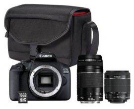 Darty: Reflex Canon EOS 2000D + 2 objectifs + SD 16Go + sac à 479€ au lieu de 599€