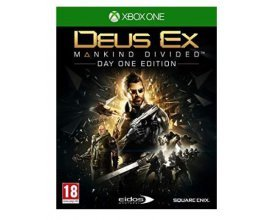 Amazon: Jeu XBOX One - Deus Ex: Mankind Divided Day One Edition, à 5€ au lieu de 69,99€