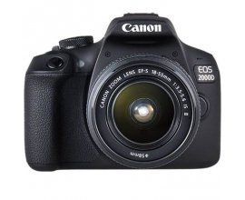Cdiscount: Appareil photo reflex CANON EOS 2000D 24,1 mégapixels + Objectif EF-S 18-55 IS II