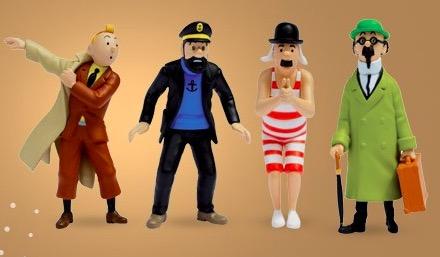 Code promo Fnac : 1 figurine collector Tintin offerte (parmi 9 modèles) pour 2 albums Tintin achetés