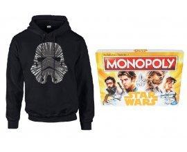 Zavvi: Un sweat à capuche Star Wars acheté = Un Monopoly Star Wars Han Solo offert