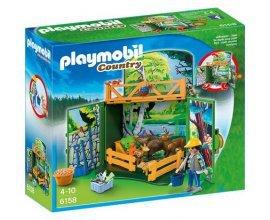 Auchan: Coffret des animaux de la forêt playmobil