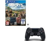 Cdiscount: Jeu PS4 Far Cry 5 + Manette DualShock 4 Noire V2 à 69,99€