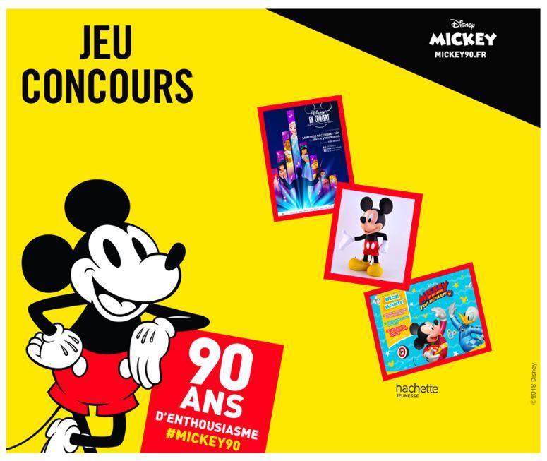 "Code promo Orchestra : 1 séjour à Strasbourg pour ""Disney en Concert"", 10 statues Mickey, 10 valisettes Mickey à gagner"