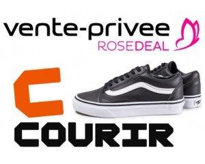 Vente Privée: [Rosedeal] Payez 25€ le bon d'achat Courir de 50€