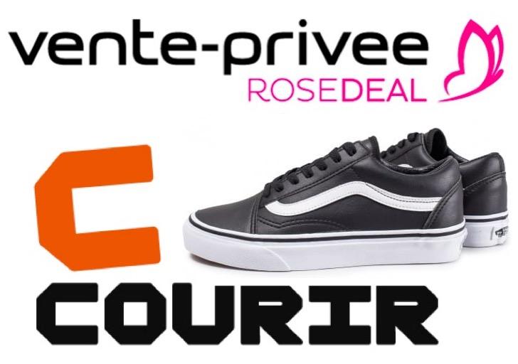 Code promo Vente Privée : [Rosedeal] Payez 25€ le bon d'achat Courir de 50€