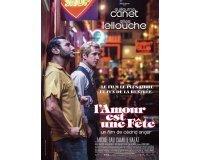 """Rire et chansons: 15 lots de 2 places de ciné pour le film """"L'Amour est une fête"""" à gagner"""