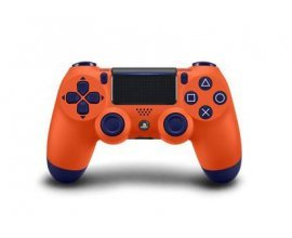 Fnac: Manette PS4 Sony DualShock 4 Sans fil V2 Sunset Orange à 59,99€