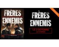 """OCS: 50 lots de 2 places de cinéma pour le film """"Frères Ennemis"""" à gagner"""