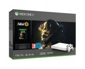 Cdiscount: [Précommande] Console Xbox One X 1 To Fallout 76 Edition limitée Robot White à 449€