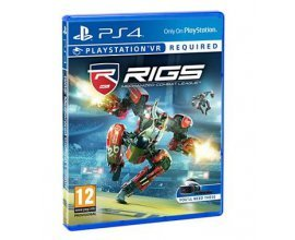 Boulanger: Jeu PS4 RIGS : Mechanized Combat League (VR) à 5€