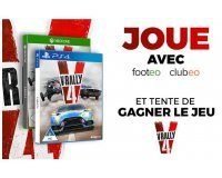 Footeo: 20 jeux V-Rally 4 pour PS4 et Xbox One à gagner