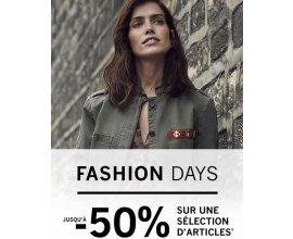 1.2.3: [Fashion Days] Jusqu'à -50% sur une sélection d'articles