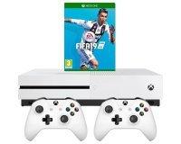 Amazon: Pack Xbox One S 1To avec 2 Manettes + Fifa 19 + 3 mois de Game Pass et Live +