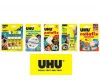 Magazine Maxi: 30 lots de 5 produits UHU à gagner