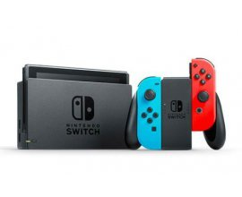 eBay: Console Nintendo Switch avec paire de Joy-Con Rouge et Bleu à 274€ au lieu de 299€